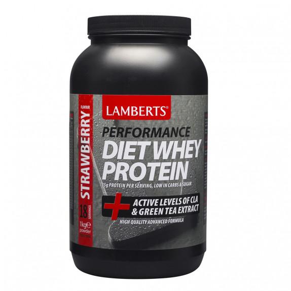 Diet Whey Protein - Γεύση φράουλα