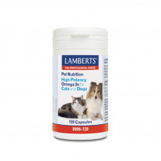 High Potency Omega 3s for Cats and Dogs